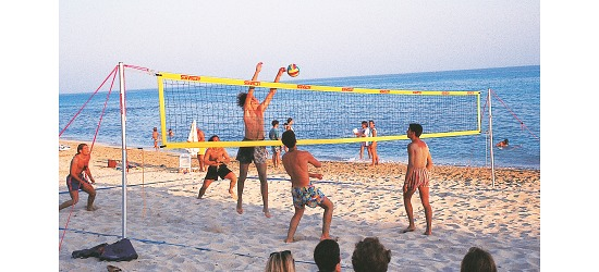 "Beachvolleybollnät ""Plus"""
