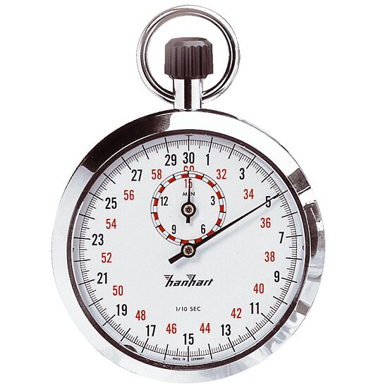 how to read analog stopwatch