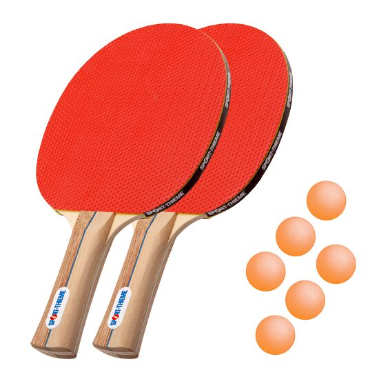 "Bordtennisracket  Sport-Thieme ""Rom"" i set Orange bollar"