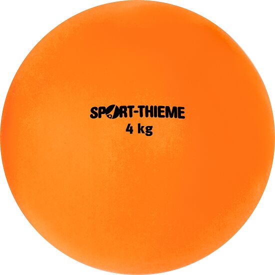 Sport-Thieme® Kula av syntetmaterial 4 kg, orange, ø 134 mm