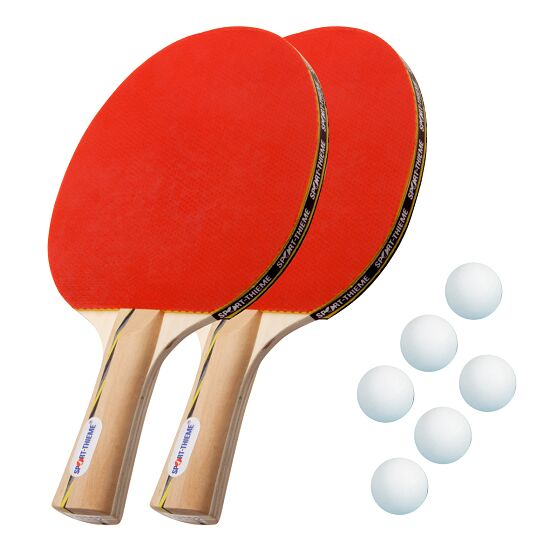 "Sport-Thieme® Set bordtennisracket ""Wien"" Vita bollar"