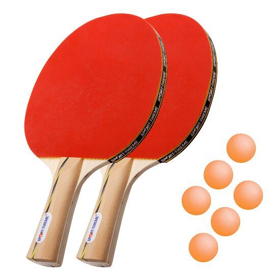 "Sport-Thieme® Set bordtennisracket ""Wien"" Orange bollar"