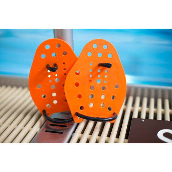 Sport-Thieme® Swim-Power®-paddlar Stl. XS: 17 x 13 cm, orange