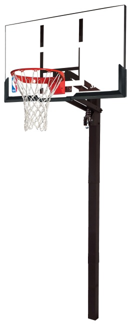 "Spalding® Basketenhet ""NBA Gold Exacta High Lift In-Ground"""
