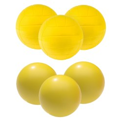 "Sport-Thieme® Set PUR-skumgummibollar ""Volleyball"""