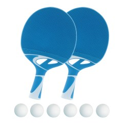 "Bordtennisracket ""Tacteo 30"" i set"