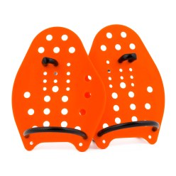 Sport-Thieme Swim Power-paddlar Stl. XS: 17 x 13 cm, orange
