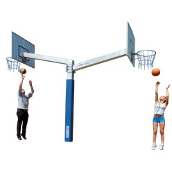 "Sport-Thieme® Basketenhet ""Fair Play Duo"""