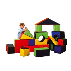 Soft Play Pusselblock