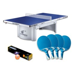 "Cornilleau® Bordtennisbord ""PRO 510 Outdoor"" i set"