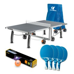 "Cornilleau® Bordtennisbord ""Pro 540 Outdoor"" i set"