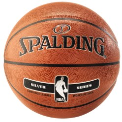 "Spalding® Basketboll ""NBA Silver"""