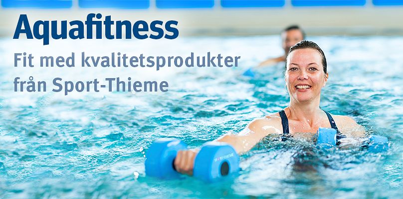 Aquafitness: Fit med kvalitetsprodukter