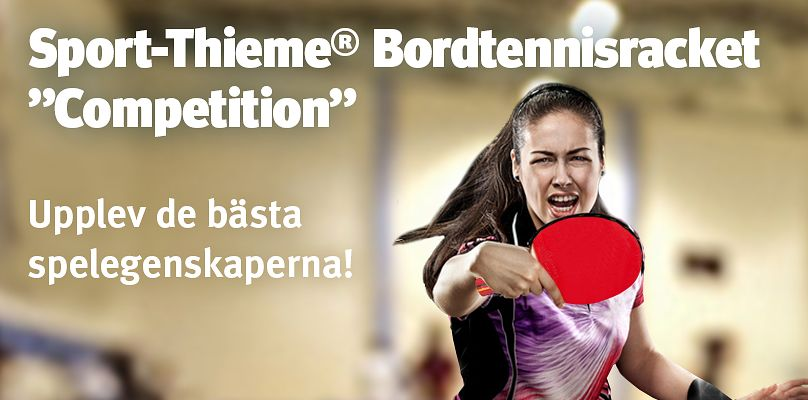 "Sport-Thieme® Bordtennisracket ""Competition"""
