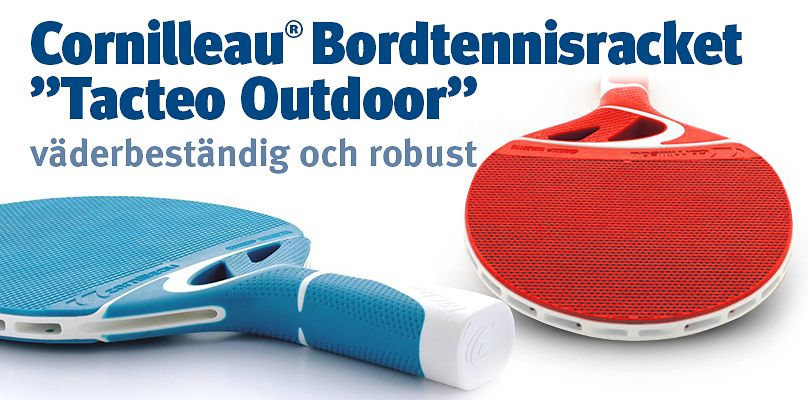 "Cornilleau® Bordtennisracket ""Tacteo Outdoor"""